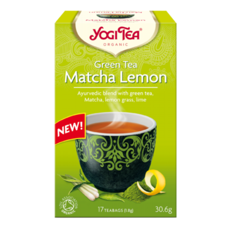 Yogi Tea MATCHA LEMON ΒΙΟ