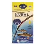 Μουρουνέλαιο Medichrom Murol με γεύση Πορτοκάλι 250ml
