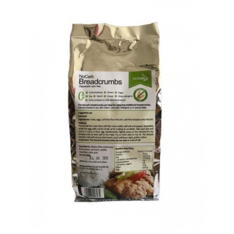 Μείγμα Φυτικών Ινών για Πανάρισμα (Mix3) Fiber Mix NoCarb Noodle 375γρ
