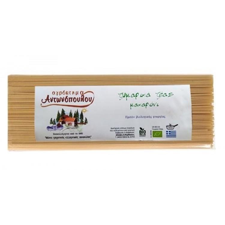 Αγρόκτημα Αντωνόπουλου Μακαρόνι Ζέας  ΒΙΟ 400gr